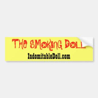 """Autocolante no vidro traseiro da boneca de fumo"" Adesivo"