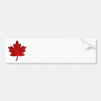 Autocolante no vidro traseiro da folha do Canadá-B Adesivo Para Carro