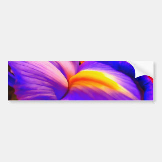 Autocolante no vidro traseiro da pintura da flor adesivo para carro