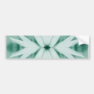 Autocolante no vidro traseiro da planta da flor da adesivo para carro