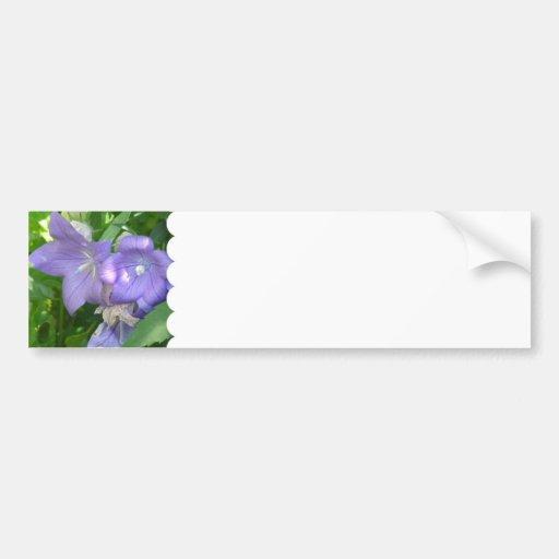 Autocolante no vidro traseiro das flores de balão adesivo