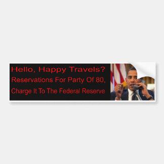 Autocolante no vidro traseiro de Anti-Obama Adesivo Para Carro