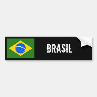 Autocolante no vidro traseiro de Brasil Adesivo Para Carro