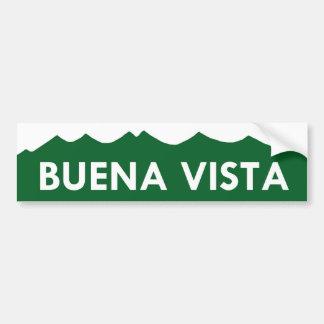 Autocolante no vidro traseiro de Buena Vista Color Adesivo Para Carro