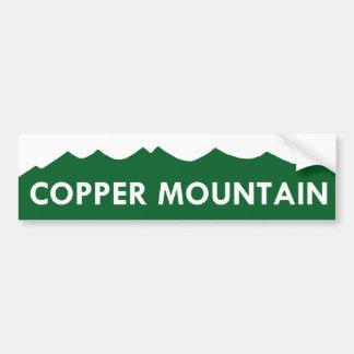 Autocolante no vidro traseiro de cobre de Colorado Adesivo Para Carro