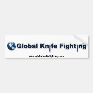Autocolante no vidro traseiro de combate da faca g adesivo para carro