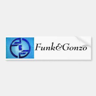 Autocolante no vidro traseiro de Funk&Gonzo Adesivo Para Carro
