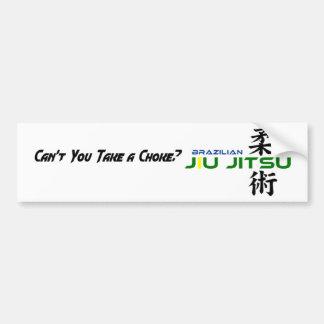 Autocolante no vidro traseiro de Jiu Jitsu do bras Adesivo Para Carro
