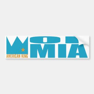 Autocolante no vidro traseiro de MIMS - rei americ Adesivo