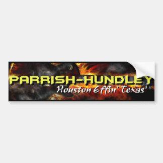 Autocolante no vidro traseiro de Parrish-Hundley H Adesivo
