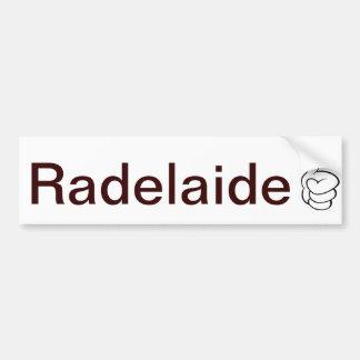 Autocolante no vidro traseiro de Radelaide Adelaid Adesivo Para Carro