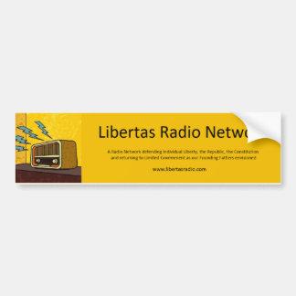 Autocolante no vidro traseiro de rádio de Libertas Adesivo Para Carro