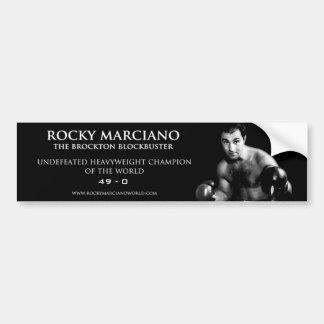 Autocolante no vidro traseiro de Rocky Marciano Adesivo Para Carro
