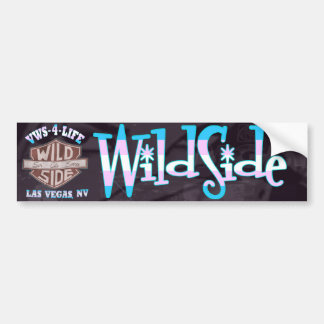Autocolante no vidro traseiro de WildSide Adesivo Para Carro