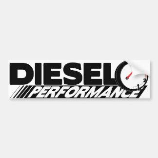 Autocolante no vidro traseiro diesel de adesivo para carro