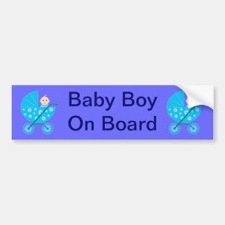 Autocolante no vidro traseiro do bebé a bordo adesivo