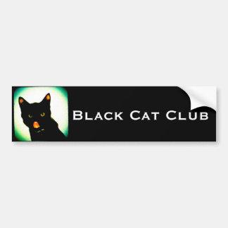 Autocolante no vidro traseiro do clube do gato pre adesivo para carro