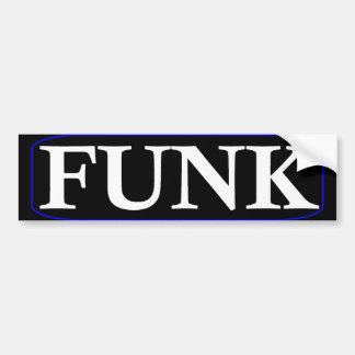 Autocolante no vidro traseiro do funk adesivo para carro