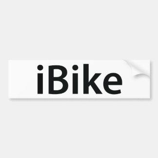 autocolante no vidro traseiro do iBike Adesivo Para Carro