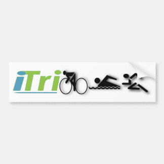 autocolante no vidro traseiro do iTri Adesivo Para Carro