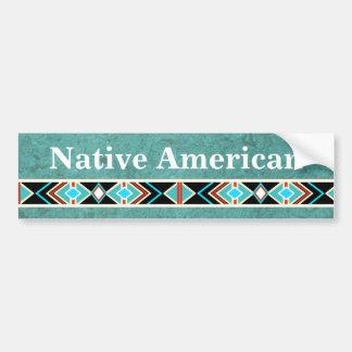 AUTOCOLANTE NO VIDRO TRASEIRO do nativo americano Adesivo Para Carro