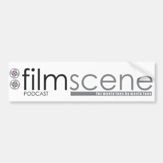 Autocolante no vidro traseiro do Podcast de FilmSc Adesivo Para Carro