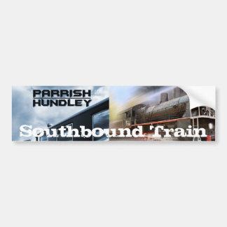 Autocolante no vidro traseiro do trem Southbound d Adesivo
