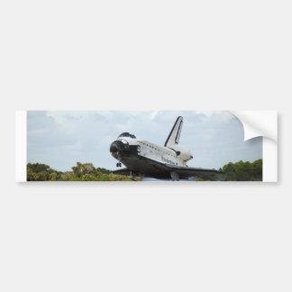 Autocolante no vidro traseiro do vaivém espacial adesivo para carro
