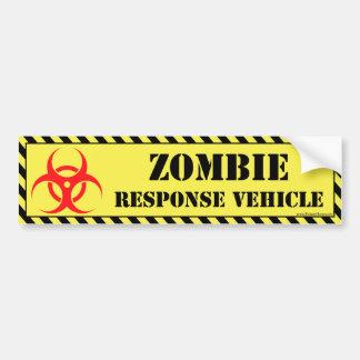 Autocolante no vidro traseiro do zombi adesivos