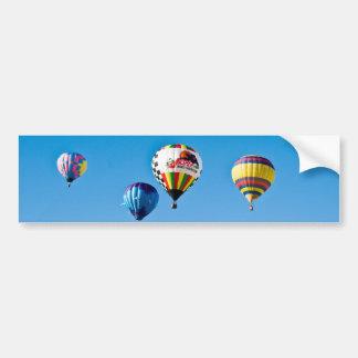 Autocolante no vidro traseiro dos balões de ar que adesivo para carro