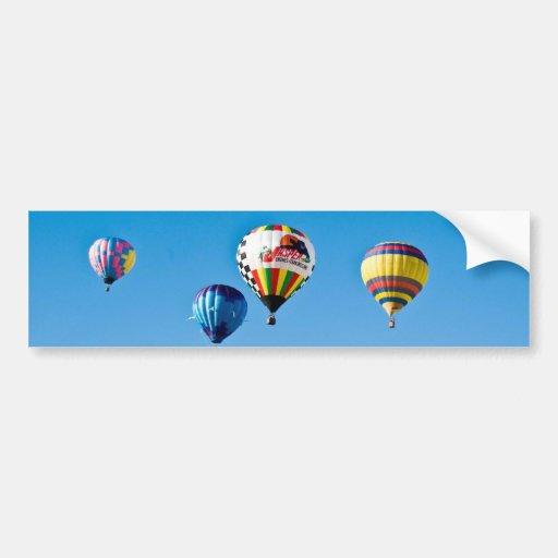Autocolante no vidro traseiro dos balões de ar que adesivos