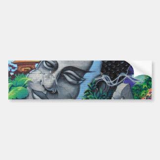 Autocolante no vidro traseiro dos grafites de Mont Adesivo