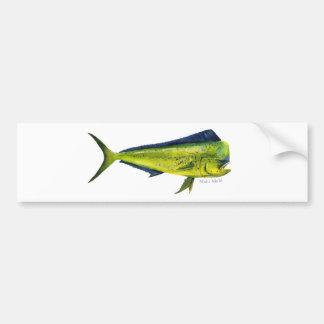 Autocolante no vidro traseiro dos peixes de Mahi M Adesivo Para Carro