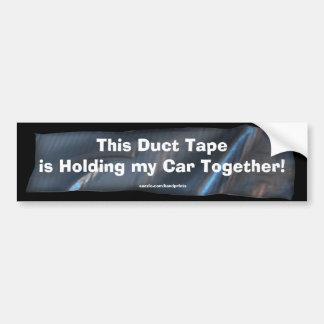 Autocolante no vidro traseiro engraçado da fita ad adesivo para carro