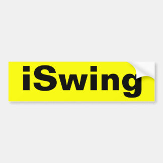 autocolante no vidro traseiro iSwing Adesivo Para Carro