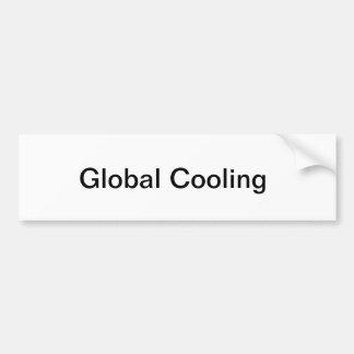 Autocolante no vidro traseiro refrigerando global adesivo para carro