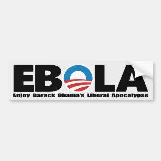 Autocolantes no vidro traseiro de Obama Ebola Adesivos