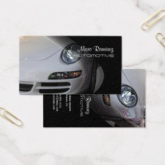 Automotriz, cartões de visitas da foto