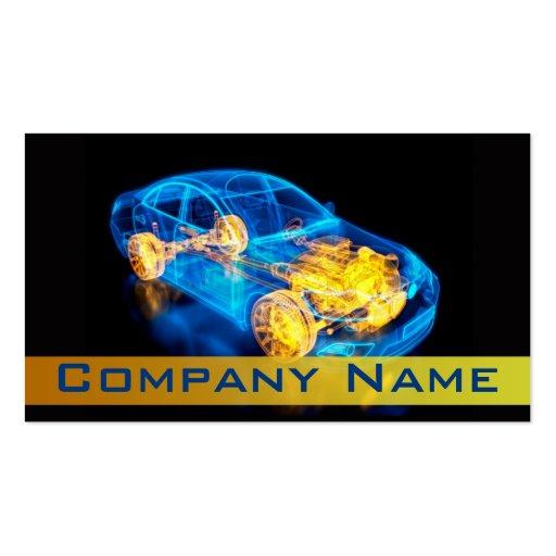 Automotriz/competência/cartão de visita do carro