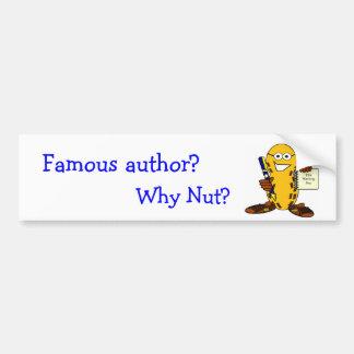 Autor famoso? por que porca? adesivo para carro