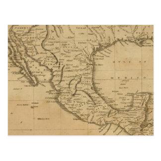 Autoridades espanholas em America do Norte Cartao Postal