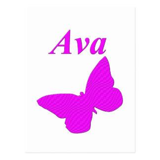 Ava Cartão Postal