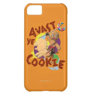 Avast biscoito do YE Capa Para iPhone 5C