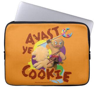 Avast biscoito do YE Capas Para Notebook