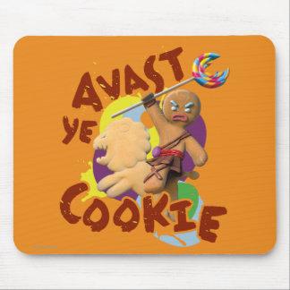 Avast biscoito do YE Mouse Pad