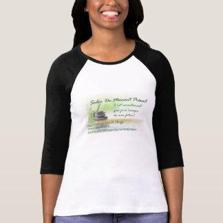 Avec/com logotipo Salão de beleza Du Momento T-shirt