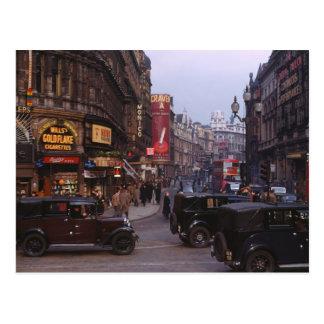 Avenida 1949 de Shaftesbury Cartão Postal