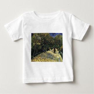 Avenida com as árvores de castanha em Arles - Van Camiseta Para Bebê