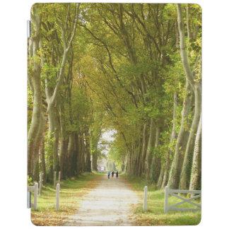Avenida da capa de ipad das árvores