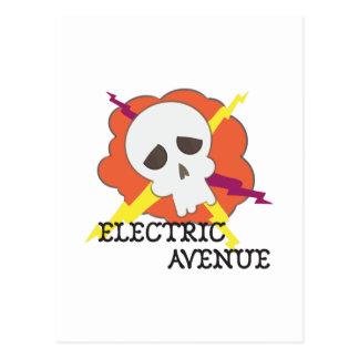 Avenida elétrica cartão postal